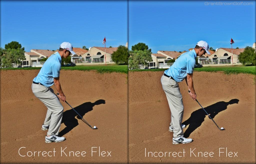 Bunker Knee flex collage