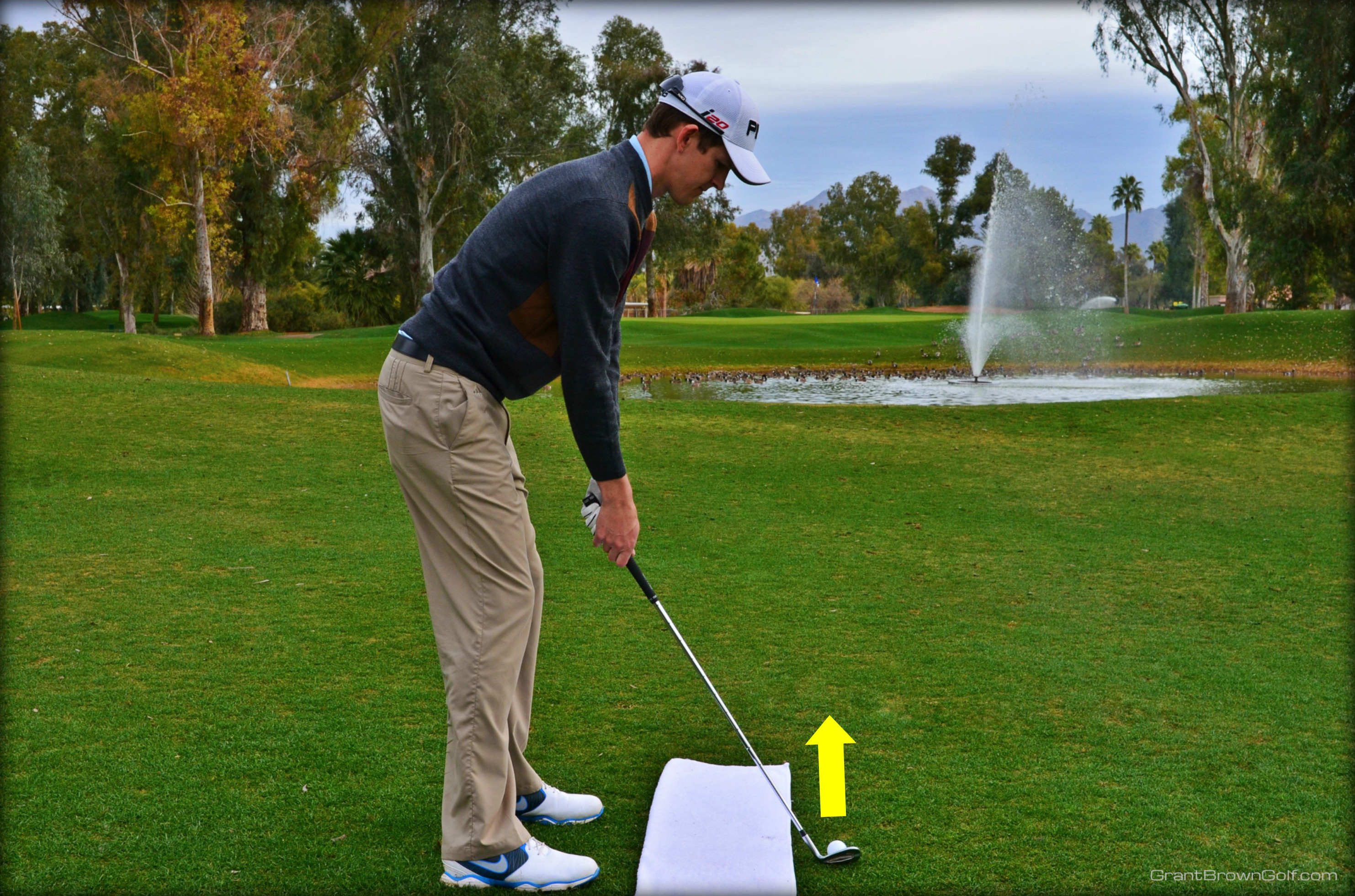 hone gadgets lasers golf show training play uses distance aids a your swing garymccormick skills green display laser and line two red help to better device one the you putt